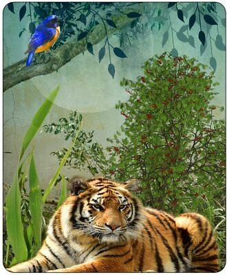 The Tiger And The Kingfisher Mousepad • 7.99£