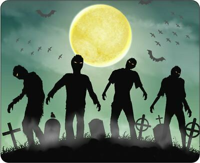 Zombies Rising From The Graveyard Mousepad • 7.99£