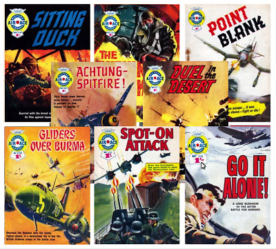 AIR ACE PICTURE LIBRARY Collection 1 & 2 - 167 Issues + 4 Specials On PCDVD + 11 • 6.99£