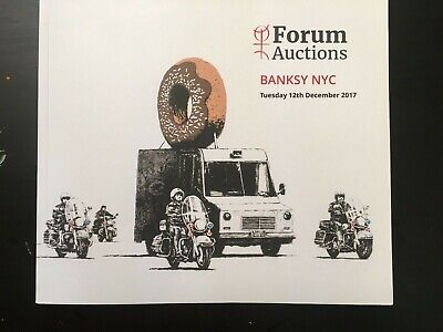 Banksy - Forum Auction - 2017 Catalog - Full Color Pages - • 46£