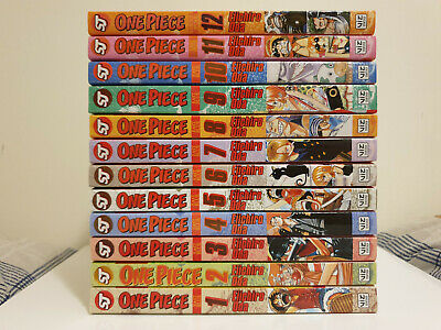 One Piece Manga Issues 1-12 (Issue 2 1st Edition) • 11£