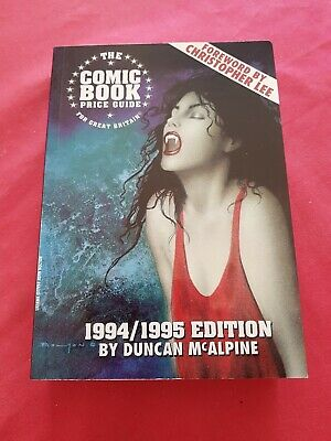 The Comic Book Price Guide For Great Britain 1994/1995 Edition. McAlpine. Mint.  • 6£