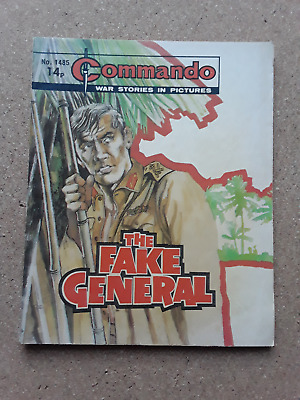 The Fake General - Commando - War Comic No 1485 • 1.50£