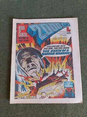 2000AD Prog 11 May 1977 Good Condition.  • 29.99£