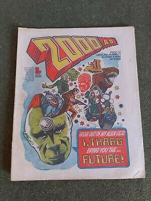2000AD Prog 13 May 1977 Good Condition. • 19.99£