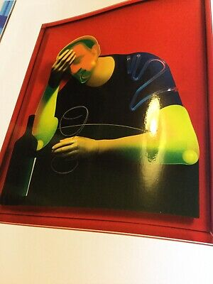 ADAM NEATE  DIMENSIONAL PAINTINGS  HARDCOVER BOOK & DVD Ltd Limited Edition 500 • 24.99£