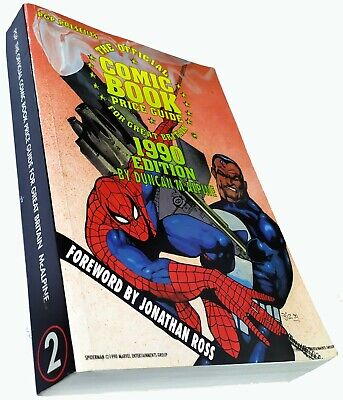 The Official Comic Book Price Guide For Great Britain 1990 Edition  • 9.50£