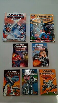 Vintage Transformers Annual And Book Bundle • 20£