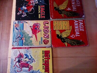 EAGLE ANNUALS, Hotspur And Lion Annual • 6£