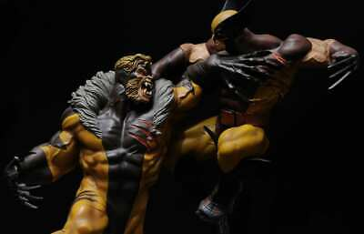 Sideshow Wolverine Vs Sabretooth Limited Edition Diorama Statue X-Men NEW • 500.67£