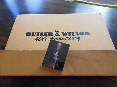 BUTLER & WILSON **COLLECTABLE**STUNNING Photos**40th Anniversary Book & Notepad. • 38£