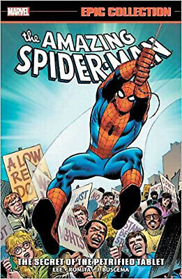 Amazing Spider-Man Epic Collection: The Secret Of The Petrified Tablet, Buscema, • 24.95£