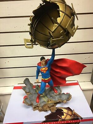 Dc Comics Superman Large Figurine Grand Jester Studios 6004979 1:6 Freepost  • 145£