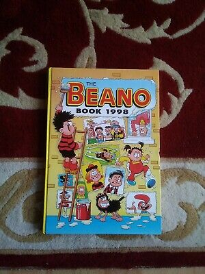 The Beano Book 1998 Unclipped Excellent Condition • 4£