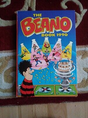 The Beano Book 1990 Unclipped Excellent Condition • 4£