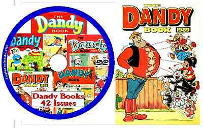 Dandy Books PCDVD 42 Issues  With Viewing Software • 1.89£
