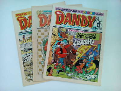 DANDY COMICS From The 1980s Retro Vintage Collectable * Buy 4 Get 1 FREEE * • 1.25£