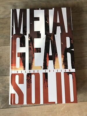 Official Metal Gear Solid Deluxe Edition Hardback Art Book  • 100£