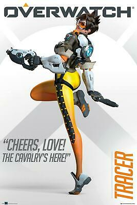 Overwatch Tracer Maxi Poster 61 X 91.5cm Blizzard Entertainment • 6.99£