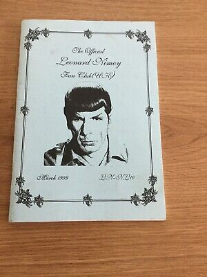 The Official Leonard Nimoy Fan Club (uk) Newsletter March 1999 • 1.50£