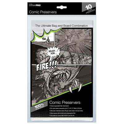 Ultra Pro - Current Comic Preservers 7x10 - (Board & Bags) • 6.99£