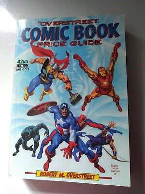 Comic Book Price Guide By Overstreet 42nd Edition .1130 Pages • 10.98£