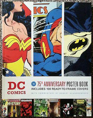 DC Comics:The 75th Anniversary Poster Book. Paperback • 29.99£
