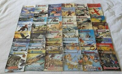 50 X Commando War Comic Job Lot 50 Comic  Collection PLEASE READ  • 24.99£