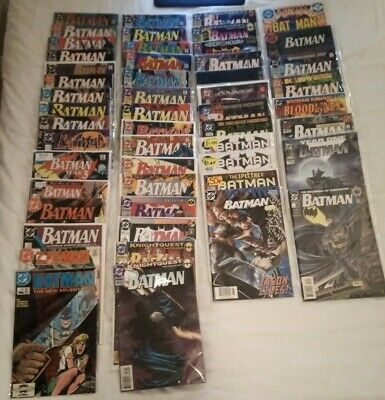 ***massive***batman Comics (dc) 82 Issues**many Vf+/nm-**see Photos**awesome*** • 1.75£