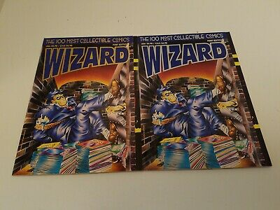 Wizard 100 Most Collectible Comics  First Edition Platinum & Gold Covers • 17.87£