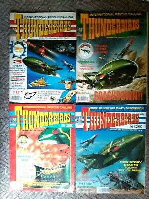 Thunderbirds - The Comic 1-10 ...with Badges • 6.99£