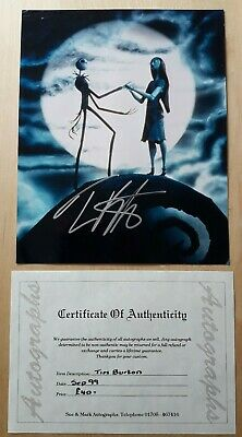 Nightmare Before Christmas  - Tim Burton Autograph  - With Certificate Of... • 50£