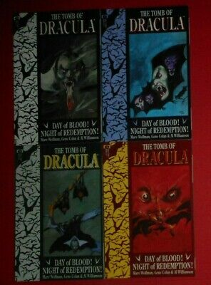 The Tomb Of Dracula Set Of 4 , Graphic Novels , Night Of Redemption . • 16.99£
