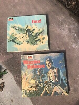 Vintage Action Man Mini Story Books Jinx Mission Realease Italy • 19.99£