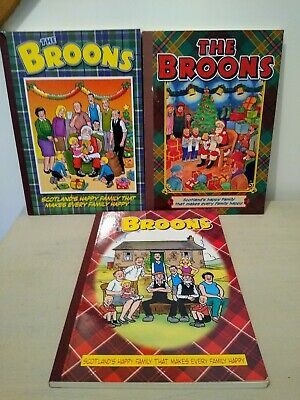 The Broons 3 Annuals Cartoon Collectibles. 2005 2007 2013 • 1.99£
