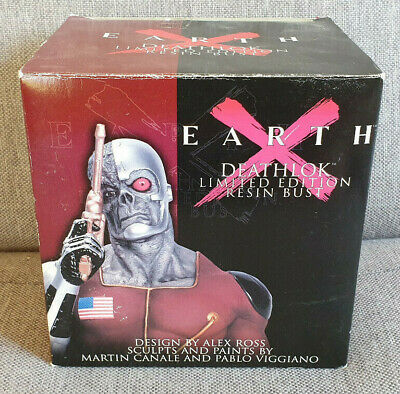 Marvel Dynamic Forces Earth X Deathlok Limited Edition Resin Bust Alex Ross Boxe • 29.99£