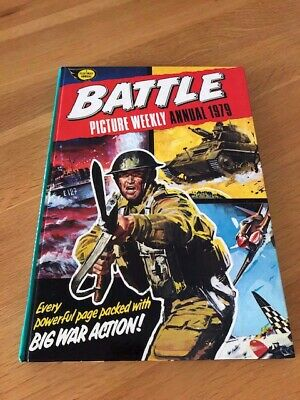 Battle Picture Weekly Annual 1979 - Great Condition • 0.99£