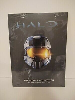 Halo The Poster Collection By Microsoft Studios XBox 40 Removable Posters. New • 9.29£