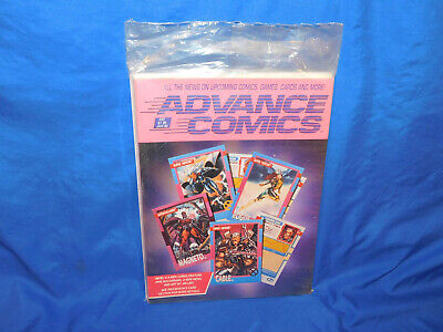 Advance Comics #37 Jan 1992 Sealed In Bag X-Men Cards Cover Magneto Cable • 4.59£