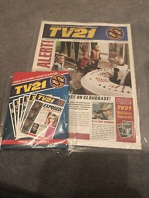 Tv21 #243 Magazine And Mini-cover Postcard Set Gerry Anderson • 5£