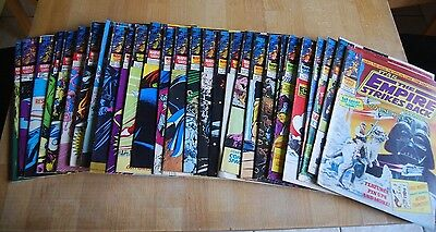 Collection Of 28 Vintage Marvel Empire Strikes Back Comics; Good Condition • 120£