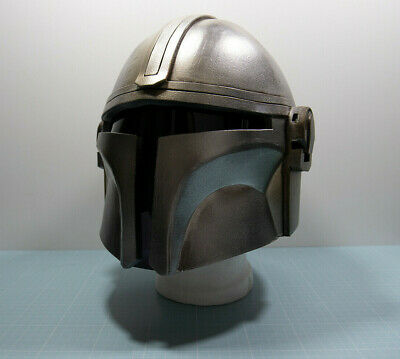 The Mandalorian Helmet Helm Cosplay Costume Kostüm Larp Schaumstoff Replika • 382£