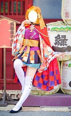 Cosplay Honoka Kousaka Love Live Taisho Kostüm Costume With Wig • 71.43£
