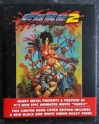 Simon Bisley FAKK 2: Limited Hardcover Edition: Heavy Metal; 1998  • 25£