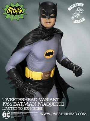 1966 Batman  # 25 / 100  Low Production  Sideshow  Tweeterhead  Sealed Insert  • 357.62£