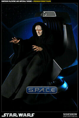 Sideshow  Emperor Palpatine On Throne Prem. Format Low #  New In Factory Shipper • 929.83£