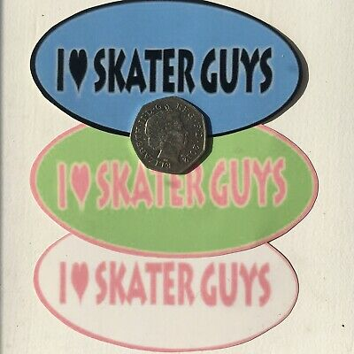 Skater Guys Socially Hazardous Y2k Vending Machine Vintage Bumper Jumbo Sticker • 3.50£