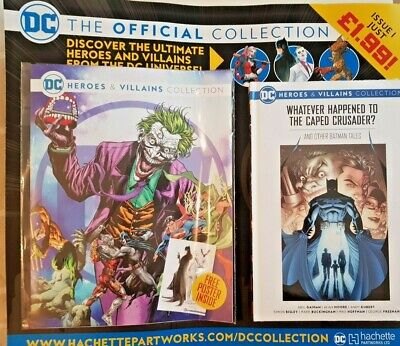 Dc Heroes And Villains  Collection 2021 # 1 - Hachette Partworks • 6.99£