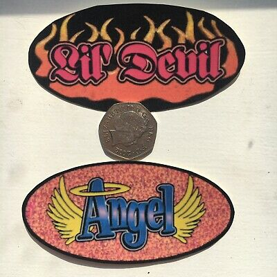 Angel Devil Socially Hazardous Y2k Vending Machine Vintage Bumper Jumbo Stickers • 2.50£