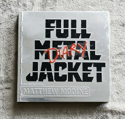 Rare Full Metal Jacket Diary Hardcover Metal Limited Edition (Number 15877) • 35£